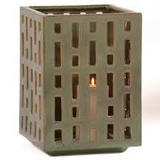 alfresco genoa ceramic garden lantern garden statue