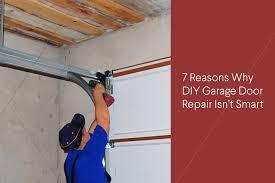 diy garage door repair dangers