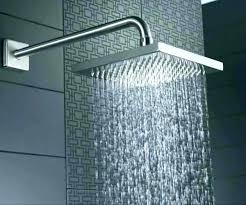 cleaning kohler shower heads outdoor