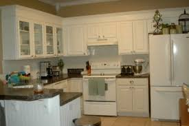 painted white oak cabinets. white kitchen with oak cabinets paint painted