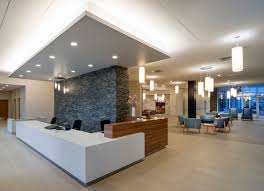 office lobby interior design. Terrace View Skilled Nursing Home - Cannon Design · Lobby ReceptionOffice Office Interior