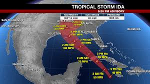 Tracking tropical storm ida's path. Dkwkr89jre90zm