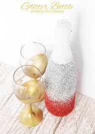 Champagne Bottle Decoration Glitter Champagne Bottle Aka Glitter Sparkling Cider Bottle