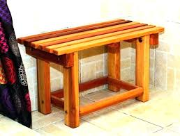 spa bench sauna accessories in home equipment day bamboo shower seat handicap mold