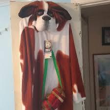 Briefly Stated Onesie Size Chart Nwt Halloween St Bernard Dog Onesie Costume Nwt