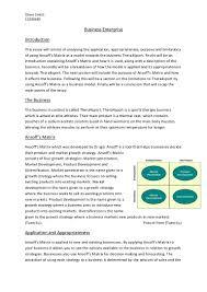 business enterprise essay