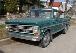 Canuck Truck: 1968 Mercury M-250 Pickup