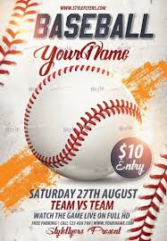 Free Baseball Flyer Template Baseball Flyers Magdalene Project Org