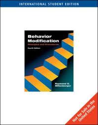 behavior modification principles and procedures 9780495500353 behavior modification ise principles and procedures
