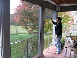 screen porch systems. Roll Up Screen Porch Systems L