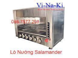 bếp nướng salamander 6 họng gas   lò nướng thịt bằng gas