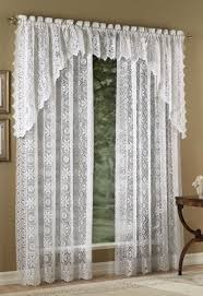 antique lace curtains