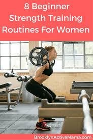 8 beginner strength routines for women