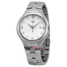 Tissot T-Trend Silver Dial Stainless Steel Ladies Watch ...