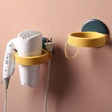 wall mounted hair dryer holder abs