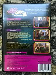 Hip Hop Abs Workout Chart Hip Hop Abs Dance Party Series Rockin Workout Body Dvd Beachbody Shaun T