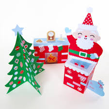 Paper Decorations Christmas Cozy Christmas Paper Craft Decorations Fantastic Toys