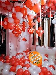 room decoration for surprise party