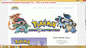 How To Download Pokemon Mega Adventure in Pc in Hindi - YouTube
