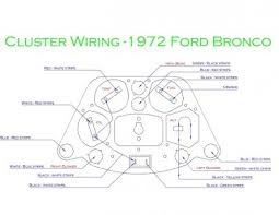 broncofix gauge cluster wiring diagram for the 1966 77 early speed o wiring bf jpg