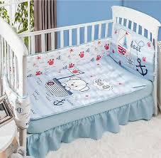 nautical crib bedding baby boys quilt