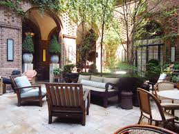 Beautiful Courtyard And Stone Cottage (Photo 9 of 10)