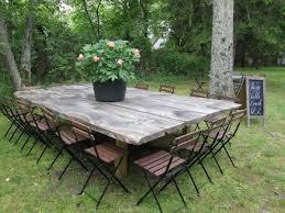diy outdoor dining table ideas. farm table design ideas \u2013 beautiful solid wood dining tables diy outdoor