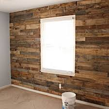 pallet accent wall wood accent wall