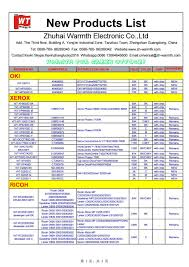 Ricoh Toner Compatibility Chart Warmth New Products Ricoh Toner Drum About Our Company