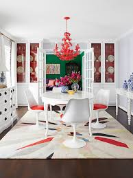tulip table and chairs. Multi-Colored Eclectic Dining Room Tulip Table And Chairs