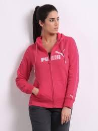 puma hoodie womens. puma women pink hooded sweatshirt hoodie womens