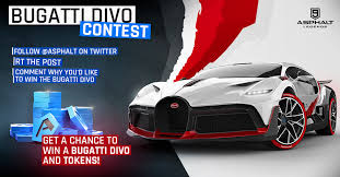 The car is named after french racing driver albert divo. Asphalt On Twitter Bugatti Divo Contest First Giveaway Of The Year Get The Chance To Win The Bugatti Divo And Tokens A9contest Follow Asphalt On Twitter Rt This Post