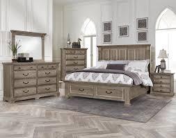 Woodlands Queen Bedroom Group by Vaughan Bassett at Suburban Furniture