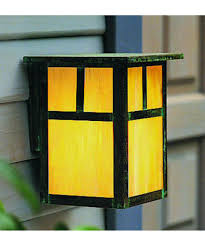 mission outdoor lighting fixtures. shown in verdigris patina finish with gold white iridescent glass and t-bar accent mission outdoor lighting fixtures i