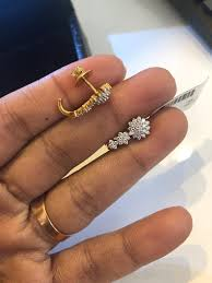 Mrs Jewelry Designs Pin By Mrs Perfect On Earrings In 2019 Gold Earrings