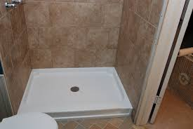 image of small fiberglass shower tiles