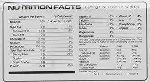 vpx zero impact high protein mealbar chocolate 12 count