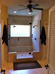 Remodel Bathroom Shower Remodelaholic Master Bathroom Remodel With Double Shower