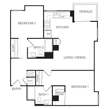 Manhattan KS 1 U0026 2 Bedroom Apartments  Floor Plans U0026 Layouts Apartments Floor Plans 2 Bedrooms
