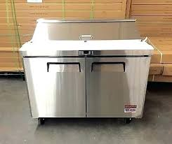 fantastic countertop refrigerated prep rail or sandwich prep unit 48 table salad refrigerator prep cooler 2