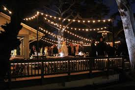 image of wonderfull outdoor string lights