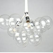 glass bubble pendant lights modern black white creative glass bubble pendant lamp light glass shade suspension