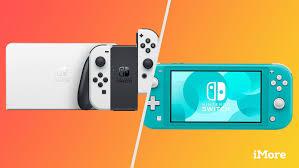 nintendo s oled model vs switch lite