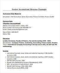 Auditor Job Description Resumes 30 Accountant Resume Templates Download Free Premium