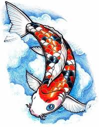 realistic koi fish drawing. Exellent Drawing Koi Fish Drawing Drawings Art Art Stained Glass Artsy Fartsy Throughout Realistic Drawing