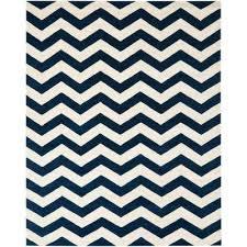 ham dark blue ivory 10 ft x 14 ft area rug