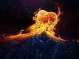 نتیجه تصویری برای دل و آتش