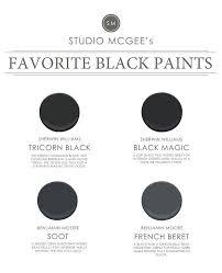 Most Popular Black Paint Colors Sherwin Williams Tricorn