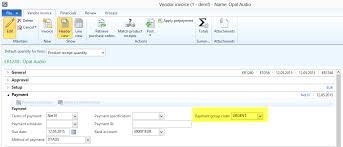 An Example Of An Invoice Vendor invoice recording Dynamics AX Finance Controlling 37