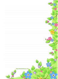 Flower Border Designs For Paper Printable Paper With Flower Border Download Them Or Print